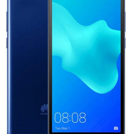Huawei Y5 2018 frente y posterior - llega con Telcel