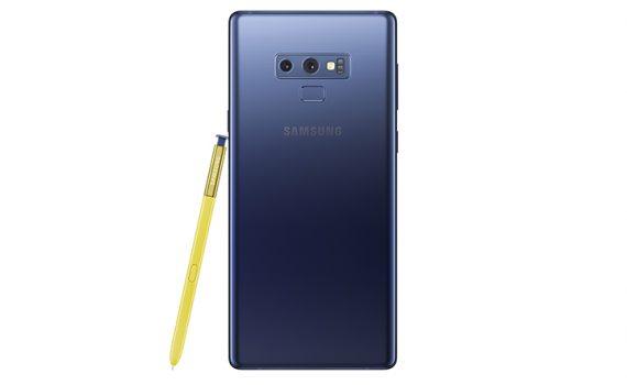 Samsung Galaxy Note9 en Telcel - cámara posterior y Pen
