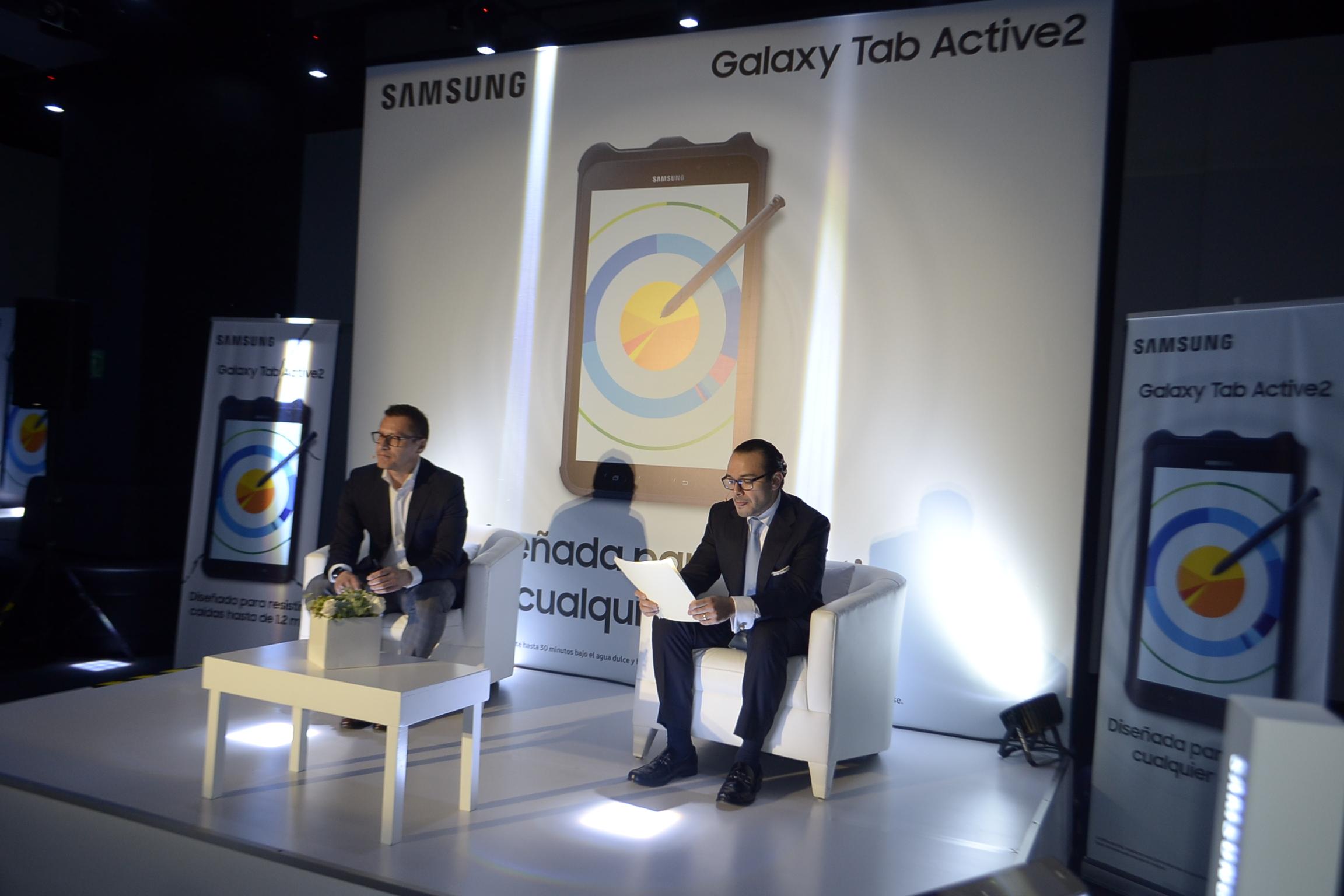 Galaxy Tab Active 2 presentación