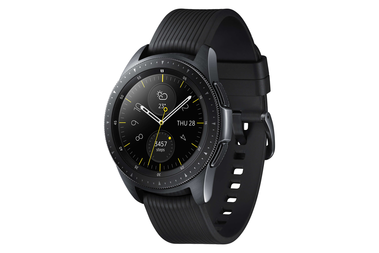 Galaxy Watch Midnight Black perfil