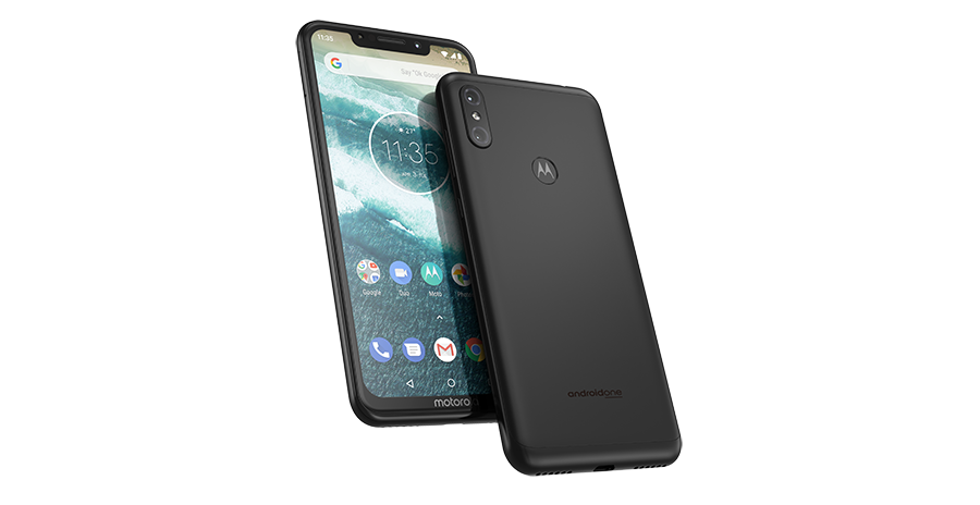 Motorola One Power Black PDP Hero