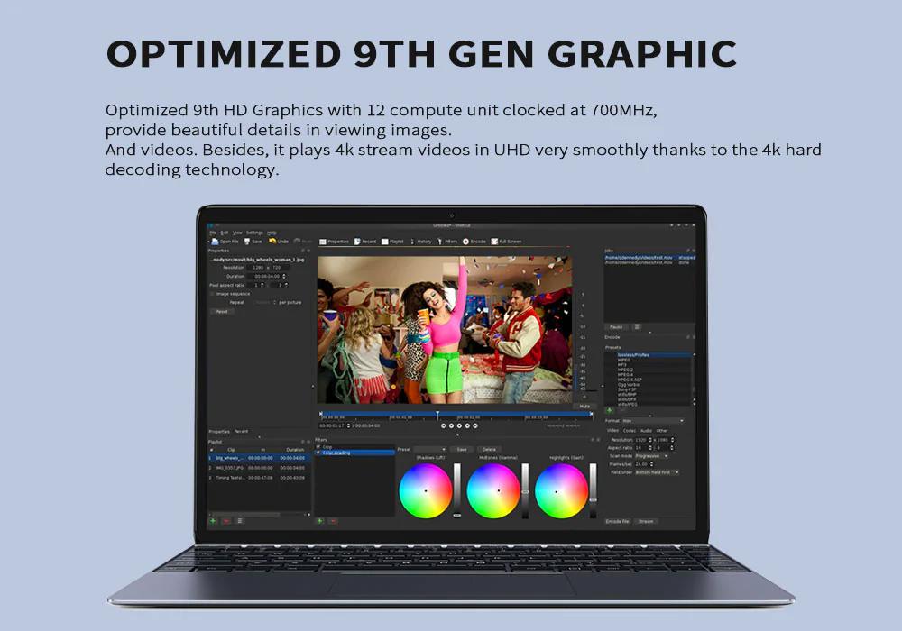 Chuwi Lapbook SE laptop con pantalla IPS brillante