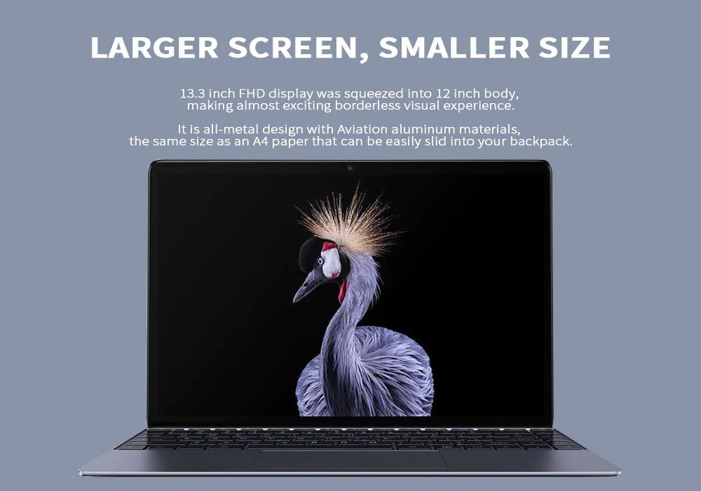 Chuwi Lapbook SE laptop con amplia pantalla y cuerpo delgado