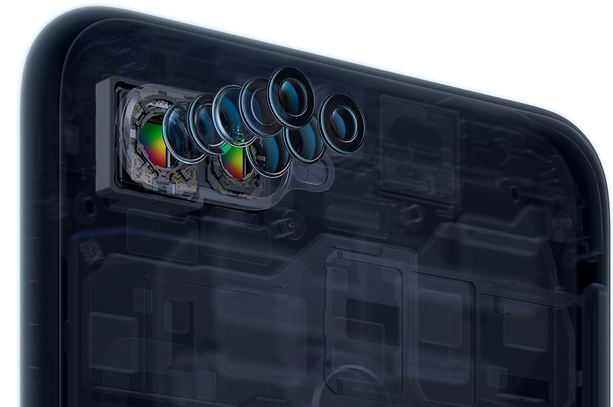Oppo F9 detalle cámara