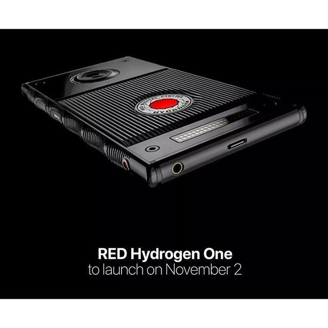 RED Hydrogen One lanzamiento