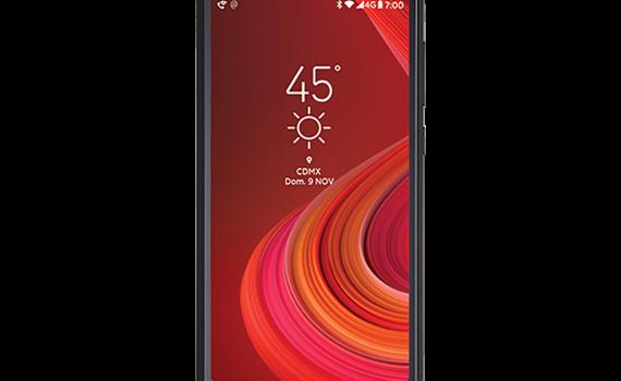 Lanix Ilium M5 pantalla