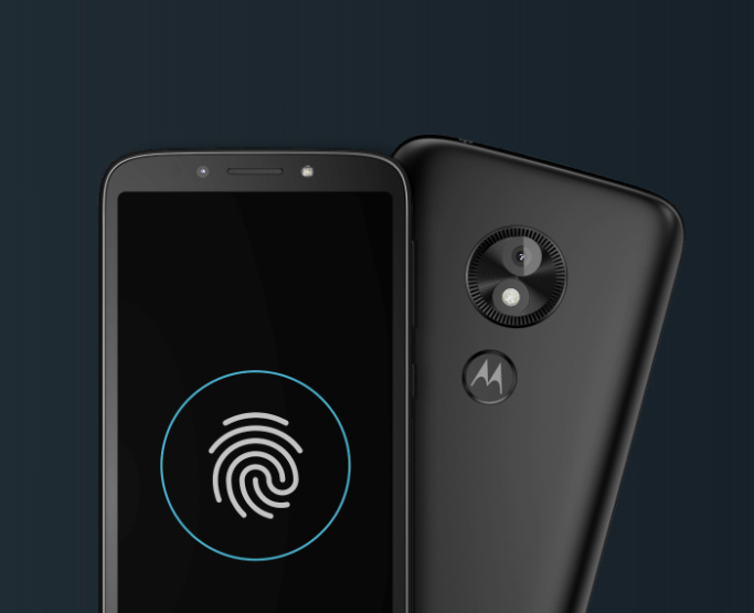 Motorola Moto E5 Play Go Edition con lector de huellas