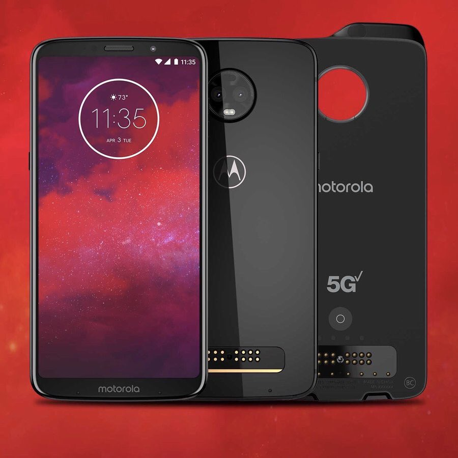 Motorola Moto Z3 pantalla