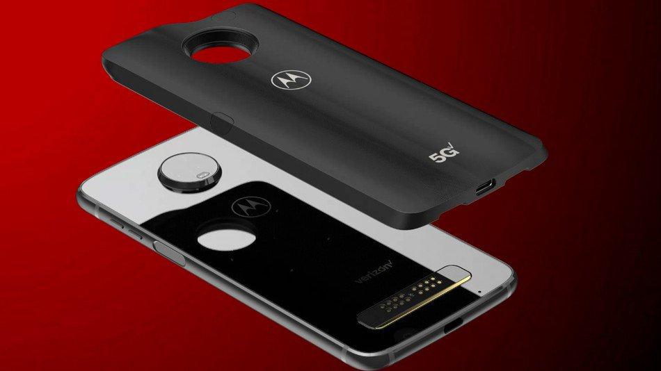 Motorola Moto Z3 cubierta