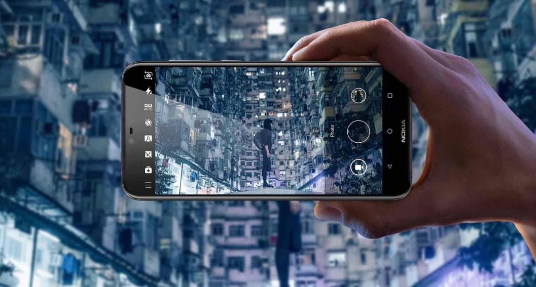 Nokia 6.1 Plus pantalla