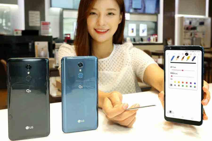 LG Q8 presentación