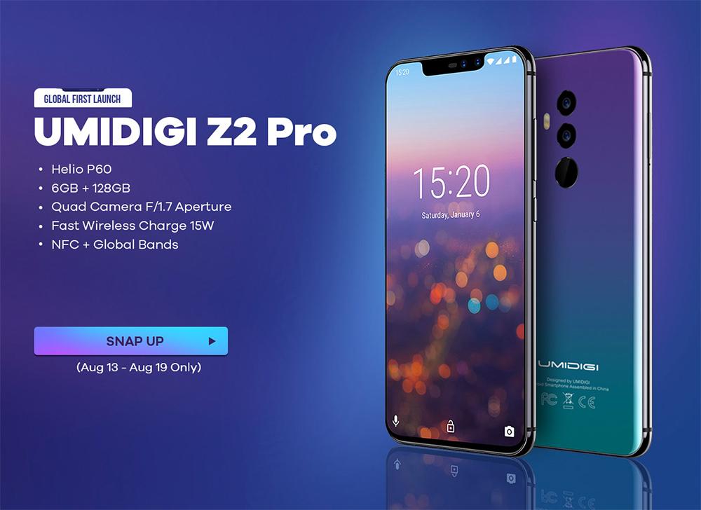 UMIDIGI Z2 Pro lanzamiento especial, con envíos a México