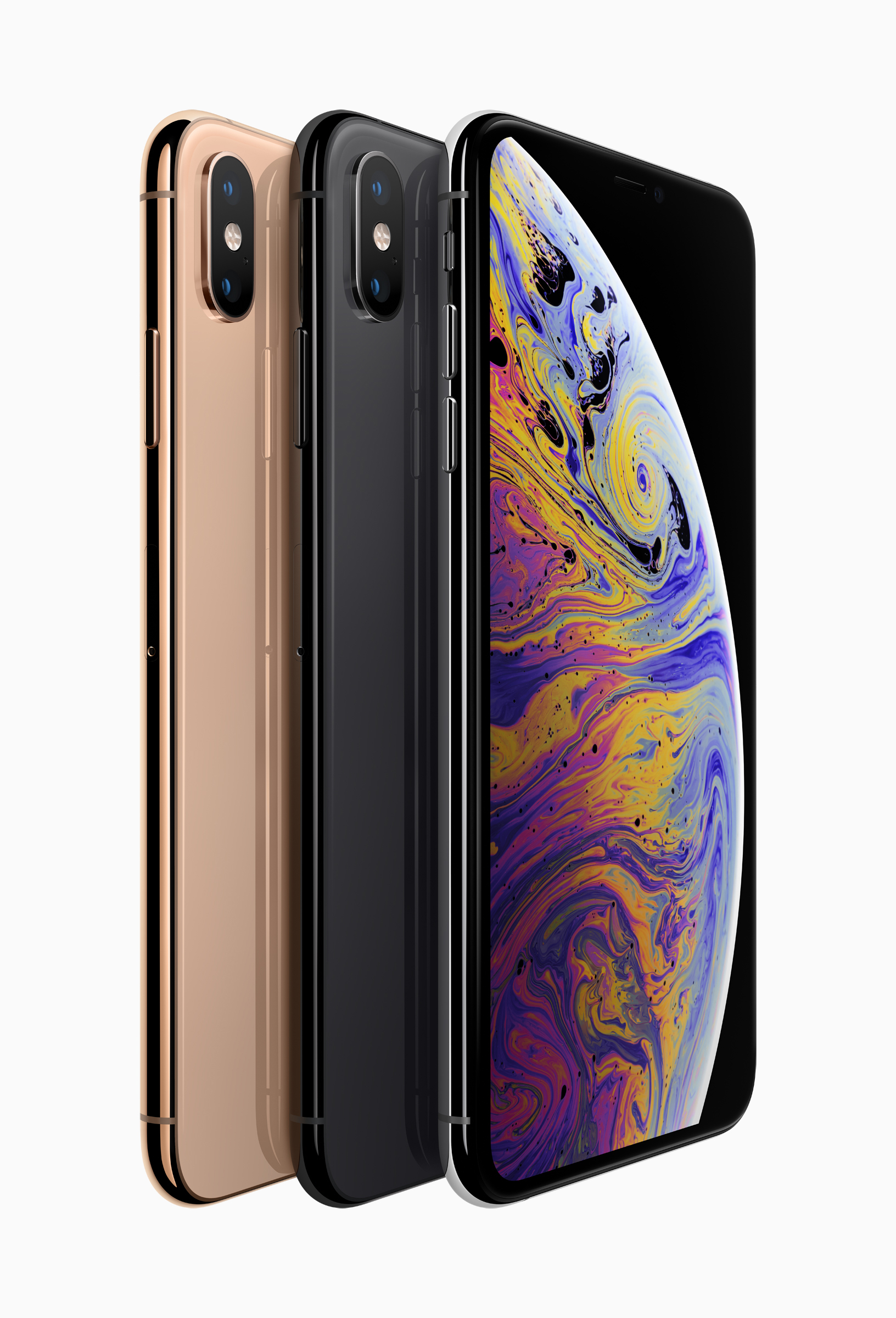 Apple iPhone Xs line up