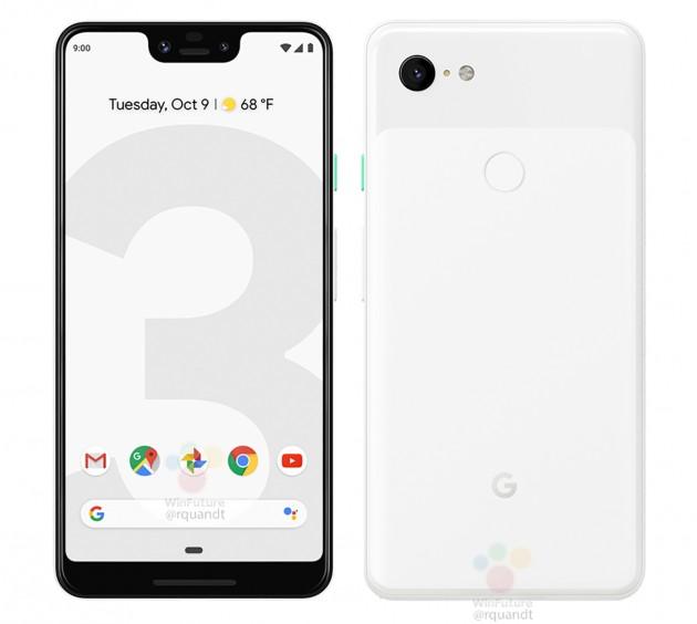 Google blanco