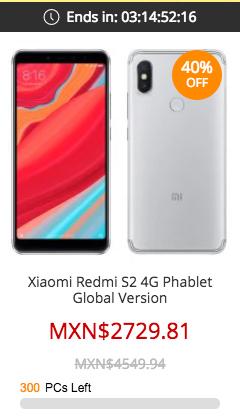 Xiaomi Redmi S2 en Gearbest oferta