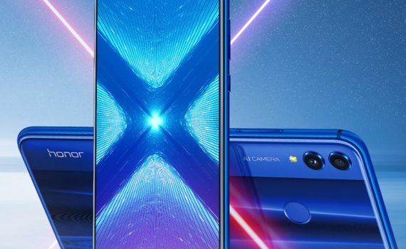 Honor 8X pantalla Notch brillante