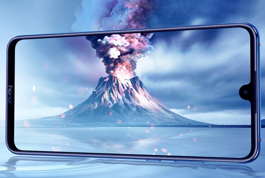 Honor 8X Max pantalla con Notch diminuto y brillante de alta resolución