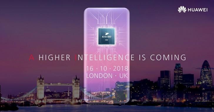 Huawei Mate 20 invitación a evento oficial