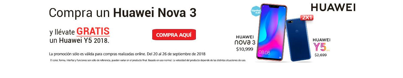 Huawei Nova 3 + Y5 2018