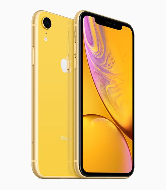 Apple iPhone Xr color amarillo