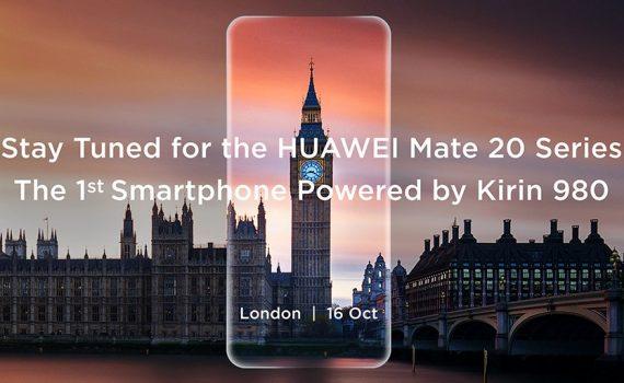 Huawei Mate 20 press