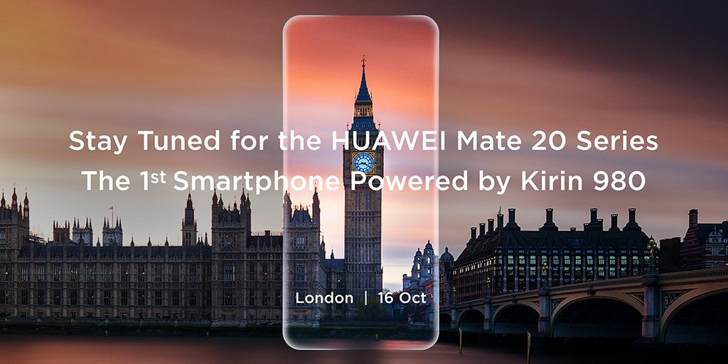 Huawei Mate 20 press