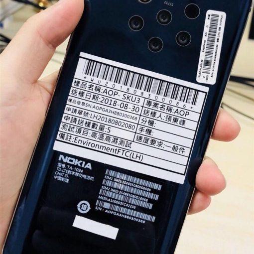 Nokia 9 con 56 cámaras