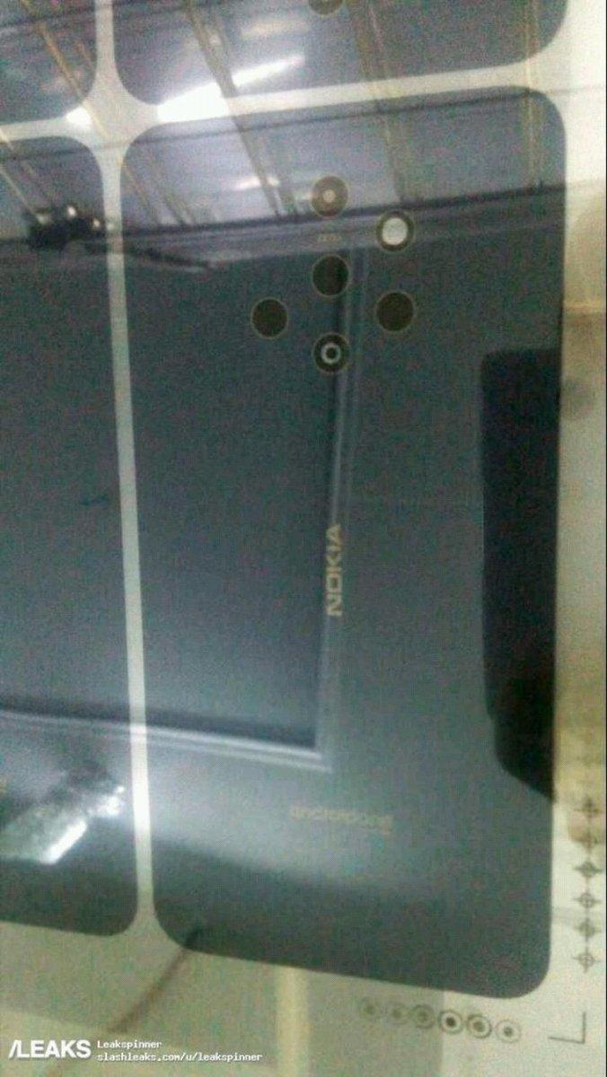 Nokia 9 filtración