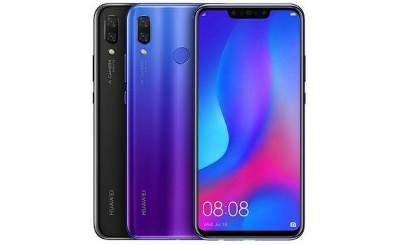 Huawei Nova 3 colores