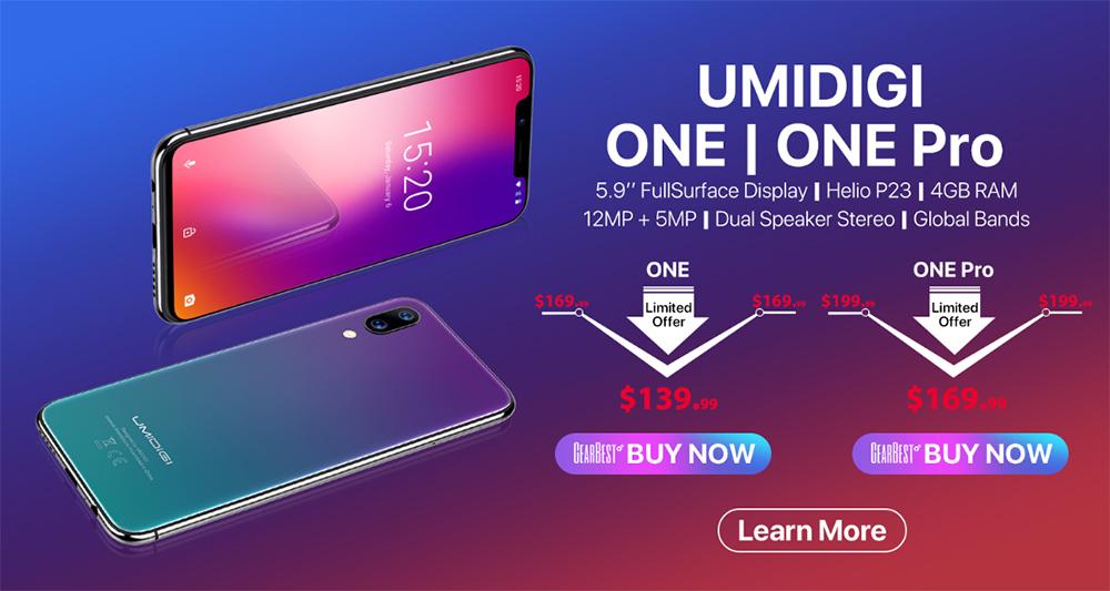 UMIDIGI One y One Pro