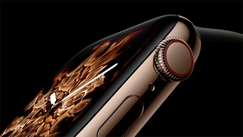 Apple Watch crown digital