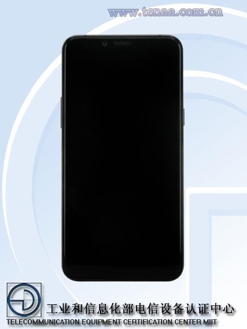 Samsung Galaxy A6S TENAA pantalla