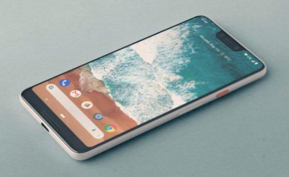 Google Pixel pantalla