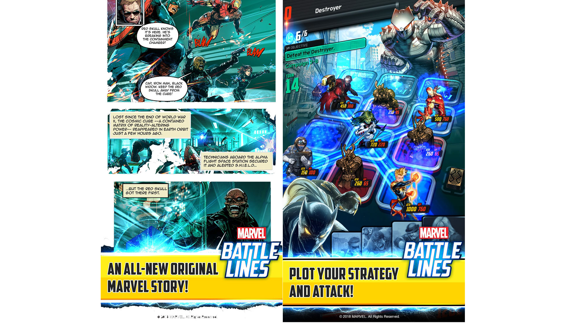 Marvel Battle Lines Story