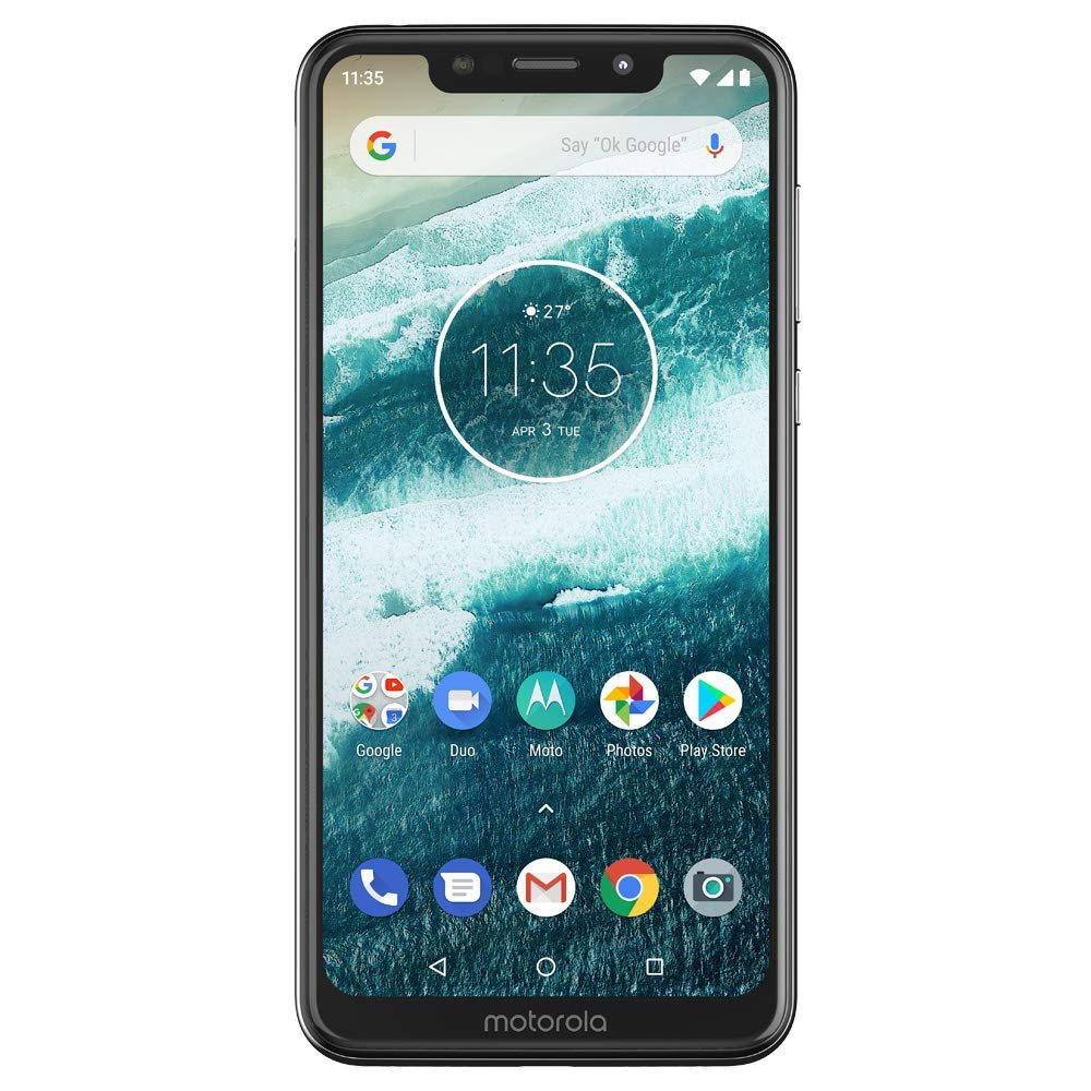 Motorola One pantalla