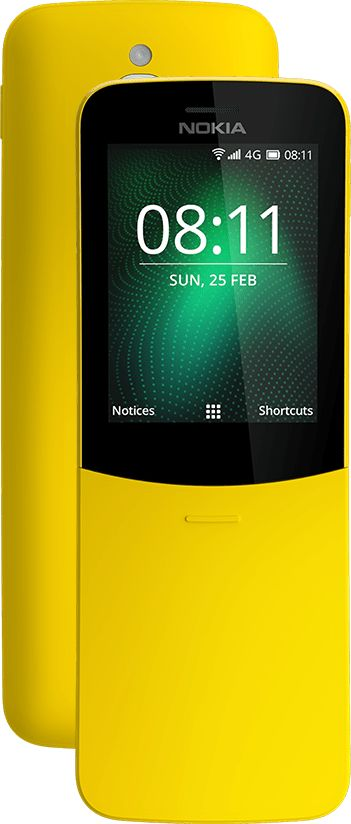 Nokia 8110 amarillo