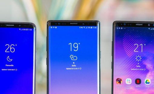 Samsung Galaxy 10 trío