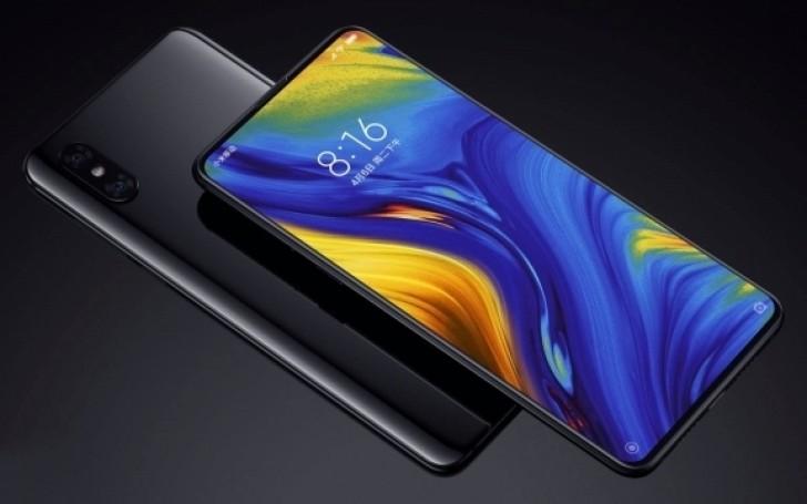 Xiaomi Mi Mix 3 pantala y posterior