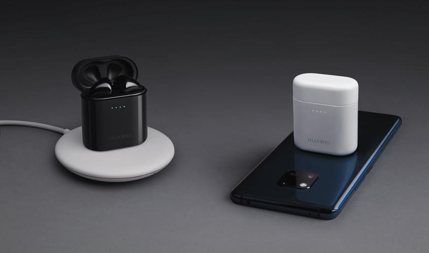 Huawei Mate 20 Pro con carga inalámbrica, será capaz de servir como cargador inalámbrico para sus audífonos Freebuds 2