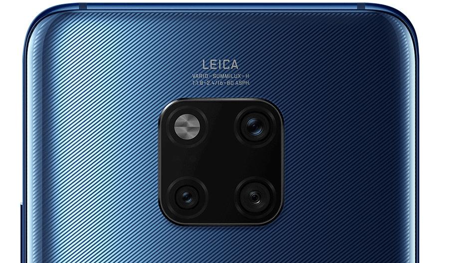 Huawei Mate 20 Pro cámara triple trasera con calidad LEICA de 40, 20 y 8 Megapixeles