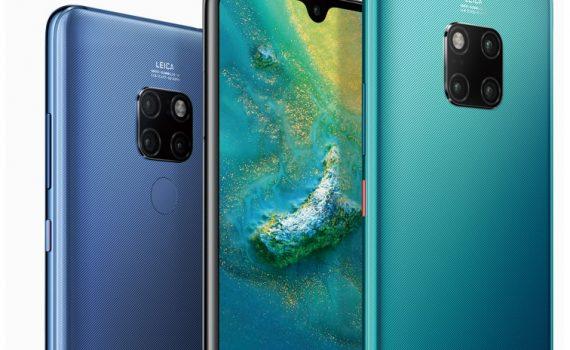 Huawei Mate 20 Pro y Mate 20 con cámaras triples