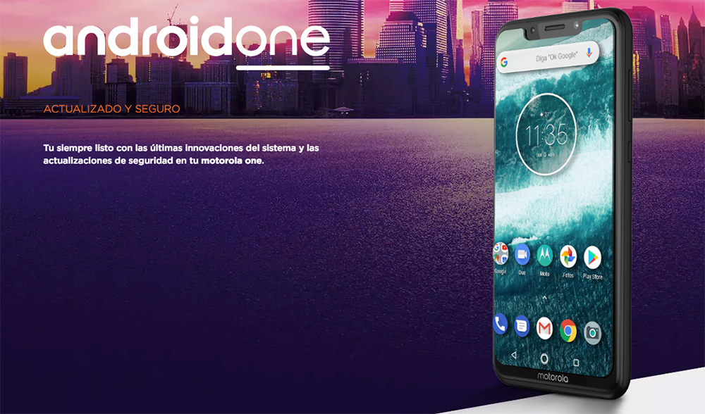 Motorola One con Android One de Google