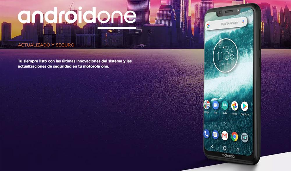 Motorola One con Android One de Google