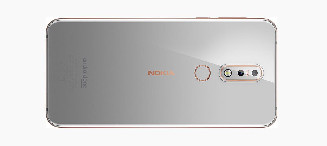 Nokia 7.1 cubierta