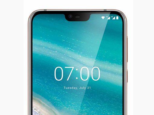 Nokia 7.1 detalle