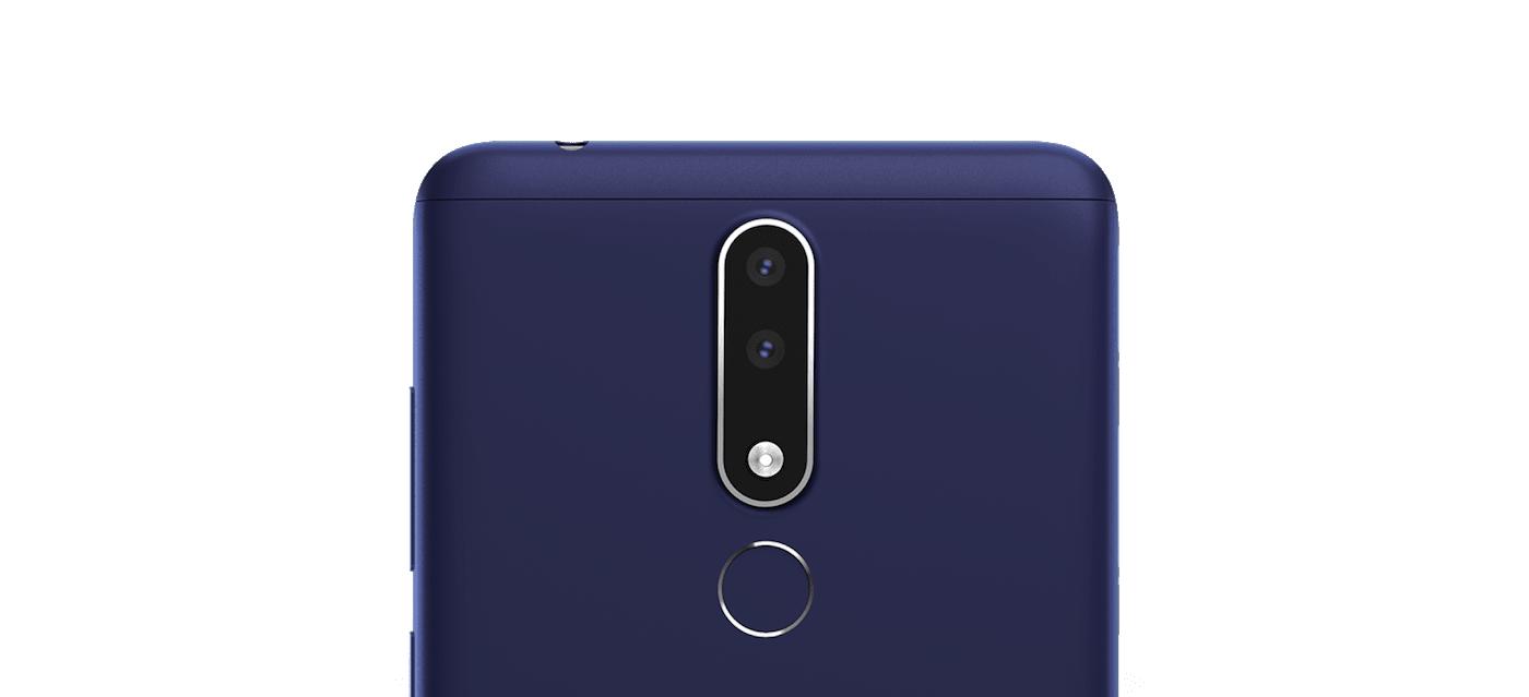 Nokia 3.1 Plus cámara