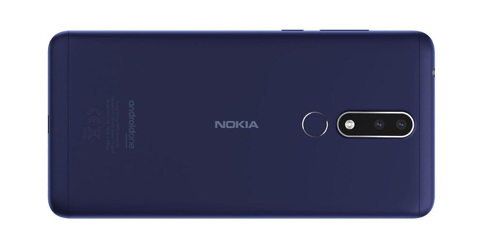 Nokia 3.1 Plus cubierta