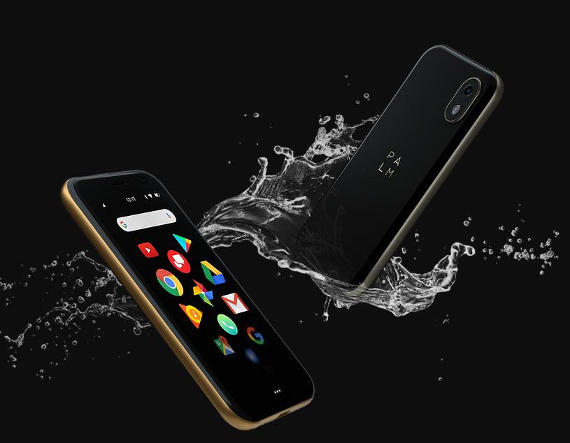 PALM 2018 un smartphone compacto con resistencia al agua y polvo