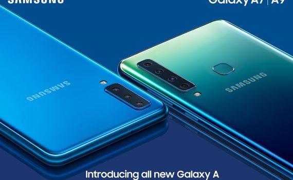 Samsung Galaxy A9 2018 y A7 - La serie A de Samsung