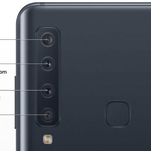 Samsung Galaxy A9 y los detalles de su cámara trasera
